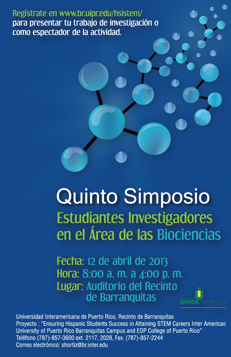 Cartel Quinto Simposio